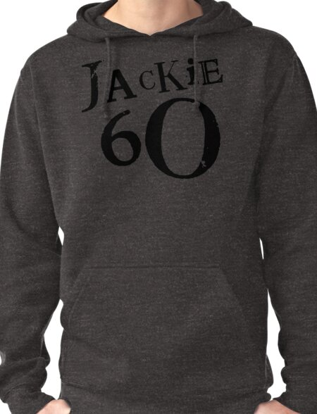 Jackie 60 Classic Logo on Brown T T-Shirt