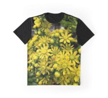Aeonium flowers in closeup Graphic T-Shirt
