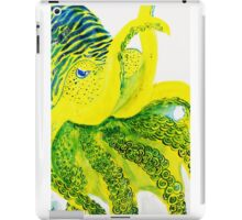 Banana Cuttlefish Design iPad Case/Skin