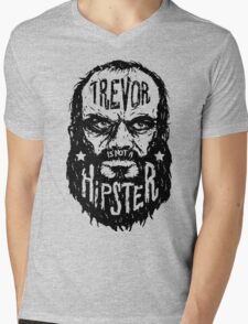 Trevor Is Not A Hipster Mens V-Neck T-Shirt