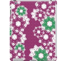 Polka Dot and Flowers Decoration iPad Case/Skin