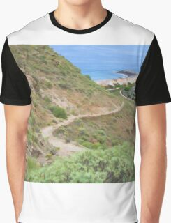 Spanish seascape Graphic T-Shirt