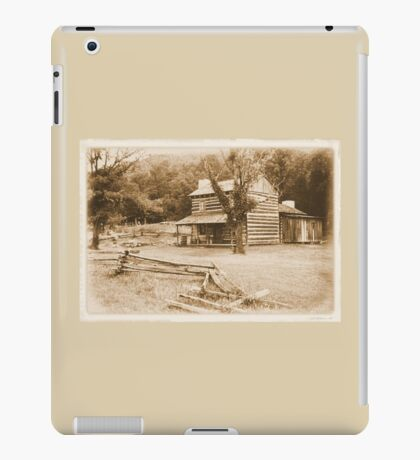 """""""Philip's Place, from the Fence Line""""... prints and products iPad Case/Skin"""