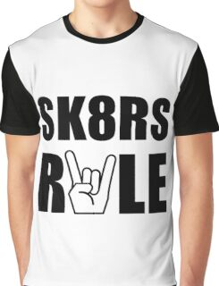 SK8RS Rule Graphic T-Shirt
