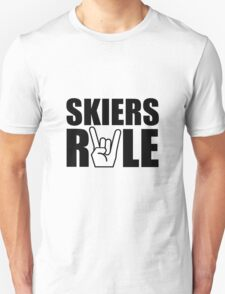 Skiers Rule T-Shirt