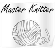 Master Knitter Poster
