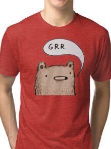 Growling Bear Tri-blend T-Shirt