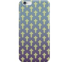 Purple Cross Patten iPhone Case/Skin