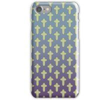 Purple Cross Patten iPhone Case/Skin