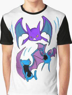 Zubat evolutions Graphic T-Shirt