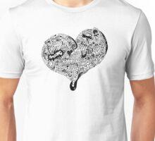 Heart Full love wins Unisex T-Shirt