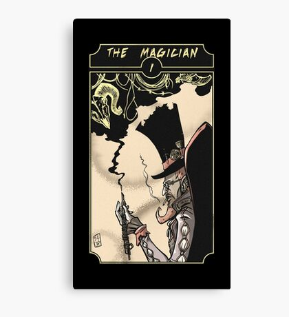 The Magician - Sinking Wasteland Tarot Canvas Print