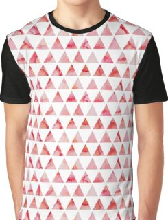 Watercolor triangles pattern Graphic T-Shirt