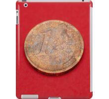 One Euro coin iPad Case/Skin