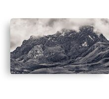 Rocky Mountain from Top of Cruz Loma Hill Quito Ecuador Canvas Print