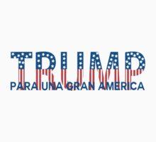 Trump Para un Gran America One Piece - Long Sleeve