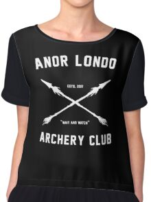 ANOR LONDO - ARCHERY CLUB Chiffon Top