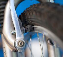 Mountain bike brakes by Martyn Franklin