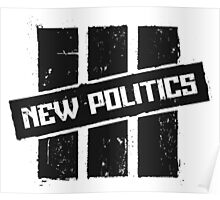 New Politics Logo Poster
