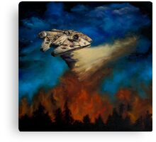 Star Wars - Fire Force Canvas Print