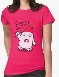 Fezzes are Cool Dr Who Adipose Womens Fitted T-Shirt