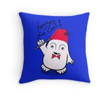 Fezzes are Cool Dr Who Adipose Throw Pillow