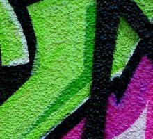 Graffiti. Wall art. Sticker