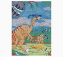 Parasaurolophus One Piece - Short Sleeve