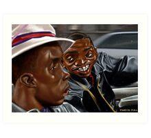 Money Mitch Art Print