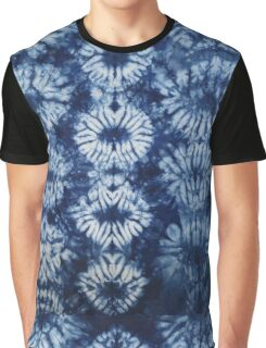 Blue Tie dye - Indigo Graphic T-Shirt