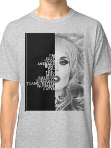 Katya Text Portrait Classic T-Shirt