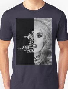 Katya Text Portrait Unisex T-Shirt