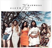 Fifth Harmony's 7/27 Simple Design  Poster