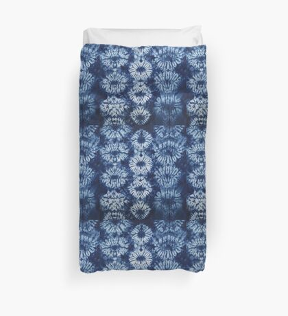 Blue Tie dye - Indigo Duvet Cover