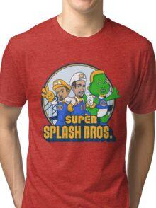 Super Splash Bros Vol 2 Tri-blend T-Shirt