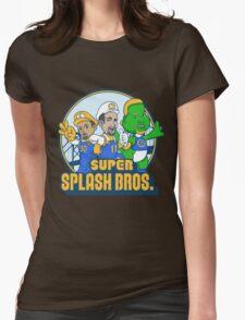 Super Splash Bros Vol 2 Womens Fitted T-Shirt