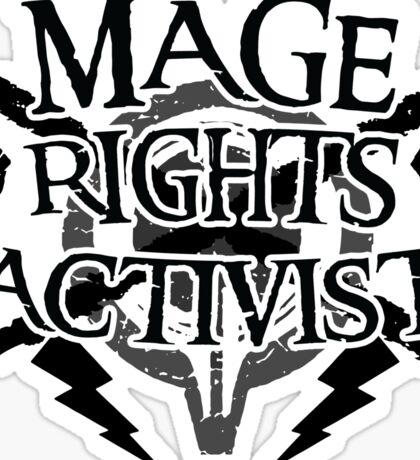 Mage Rights Activist Sticker