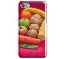 Fruit and veg iPhone Case/Skin