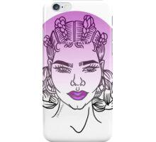 Goddess (Purple) iPhone Case/Skin