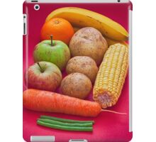 Fruit and veg iPad Case/Skin
