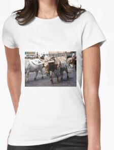 Cattle Drive 4 Womens Fitted T-Shirt
