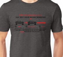 Seat Belt Check Unisex T-Shirt