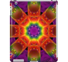 Orange and Purple Psychedelic Merchandise iPad Case/Skin