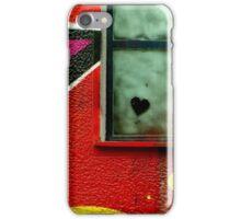 Graffiti wall art. Heart. iPhone Case/Skin