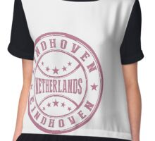 Stamp City Of Eindhoven Chiffon Top