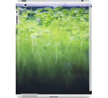 Dwarf water lettuce iPad Case/Skin