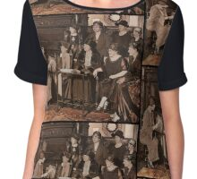 Suffragettes Meeting Chiffon Top