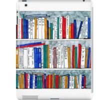 complete works of Shakespeare bookcase iPad Case/Skin