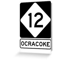 NC 12 - Ocracoke Greeting Card