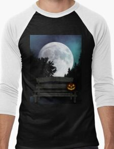 Halloween Night Men's Baseball ¾ T-Shirt